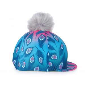 Aubrion Hyde Park Hat Cover - Pink Peacock
