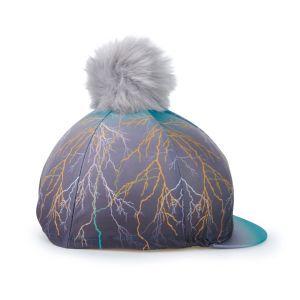 Aubrion Hyde Park Hat Cover - Teal Lightening
