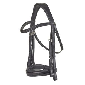 PDS Weymouth Bridle with Insider Grip Reins