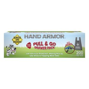 Bags On Board Hand Armour 2X Extra Thick Drawer Pack - 200 Bags