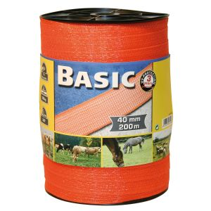 Basic Fencing Tape 200M x 40mm
