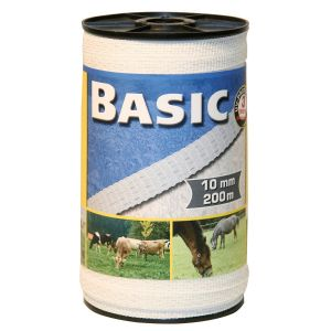 Basic Fencing Tape - 200m x 10mm