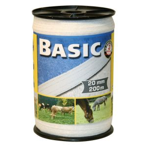 Basic Fencing Tape - 200m x 20mm