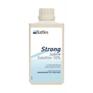 Battles 10% Iodine Solution
