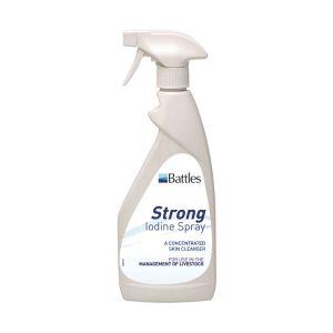 Battles 7% Strong Iodine Spray - 500ml