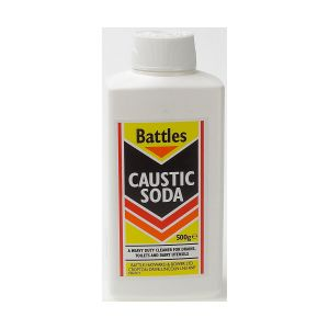 Battles Caustic Soda - 500gm