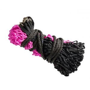 Bitz Everyday Small Hole Hay/Haylage Net Pink/Black - Small