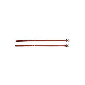 Caldene Leather Spur Straps - Tan
