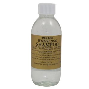 Gold Label Canine White Dog Shampoo - 250ml