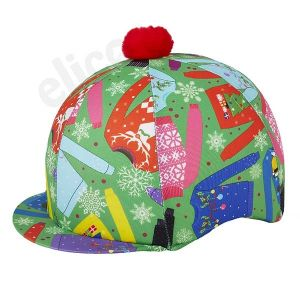 Elico Christmas Jumpers Lycra Cap Cover