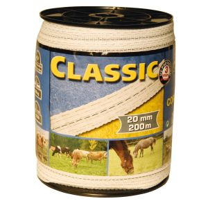 Corral Classic Fencing Tape - 200m x 20mm