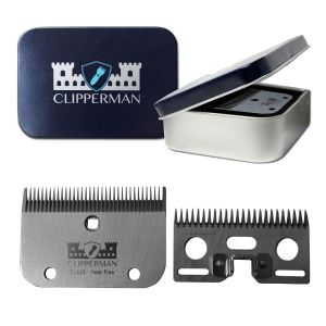 Clipperman CLA22 High Quality Steel Blade Set