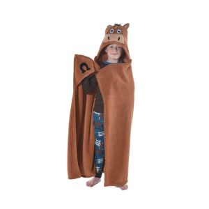 LazyOne Hooded Critter Fleece Blanket - Childs