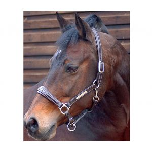 Caldene Leather Diamante Headcollar