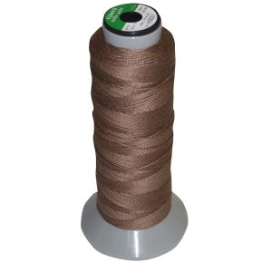 Bitz Plaiting Thread/Reel Brown