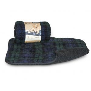 Danish Design Fleece Paw Blanket Blackwatch