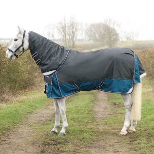 DefenceX System 50 Turnout Rug with Detachable Neck Cover