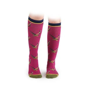 Shires Everyday Socks 2 Pack Pheasant - Childs