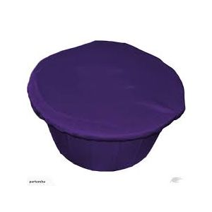 Plain Nylon Bucket Cover - Large - Royal Blue