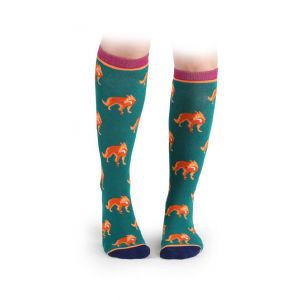 Shires Everyday Socks 2 Pack Fox - Childs