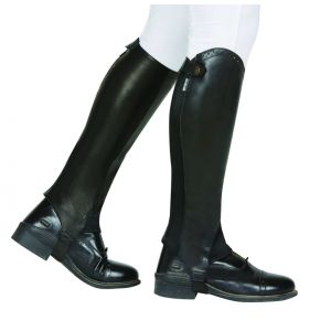 Dublin Evolution Rear Zip Half Chaps Tall - Adults