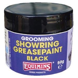 Equimins Showring Greasepaint Black 50gm Tub