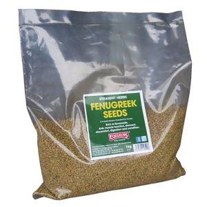 Equimins Straight Herbs Fenugreek Seeds 1Kg