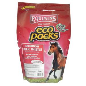 Equimins Milk Thistle Herb - 1Kg Eco Pack