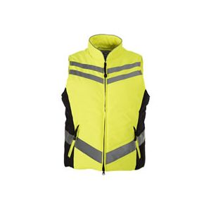 Equisafety Quilted Hi-Vis Gilet