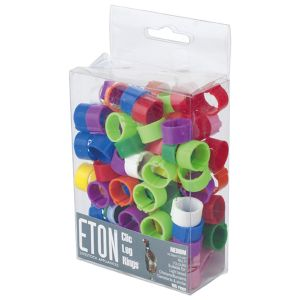 ETON Clic Leg Rings - 100 Pack - 12mm