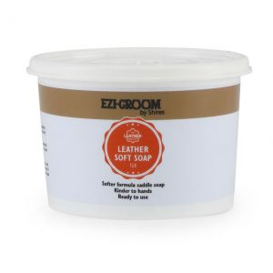 Shires EZI-GROOM Leather Soft Soap Tub 450gm