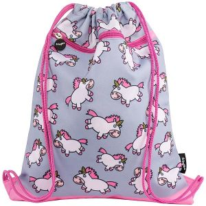 Fringoo Unicorn Drawstring Bag