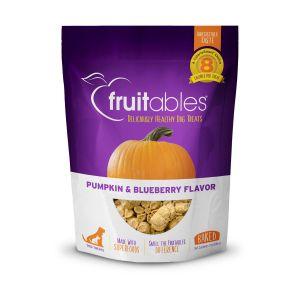 Fruitables Dog Treats - Pumpkin & Blueberry - 198gm