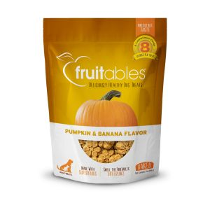 Fruitables Dog Treats - Pumpkin & Banana - 198gm