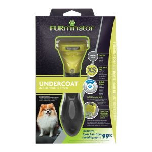 FURminator Undercoat DeShedding Tool for Long Hair Dog