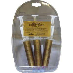 Gold Label Energy Shot - 3 x 20 ml Syringe