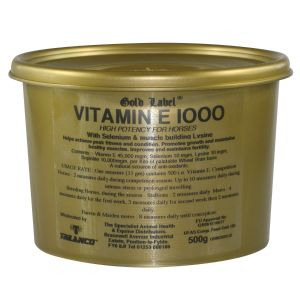 Gold Label Vitamin E 1000