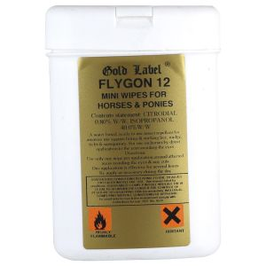 Gold Label Flygon 12 Wipes 25 Pack