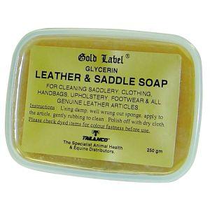 Gold Label Glycerin Leather & Saddle Soap 250gm