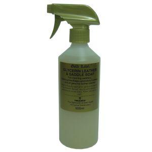 Gold Label Glycerin Leather & Saddle Soap Liquid 500ml