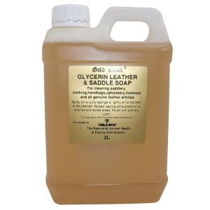 Gold Label Glycerin Leather & Saddle Soap Liquid 2L