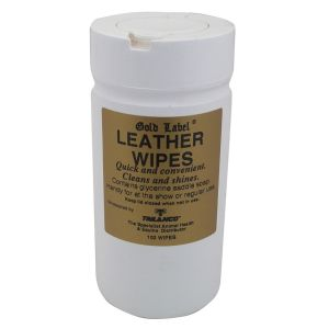 Gold Label Leather Wipes