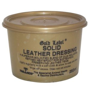 Gold Label Solid Leather Dressing 250ml