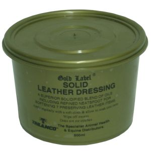 Gold Label Solid Leather Dressing 500ml
