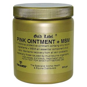 Gold Label Pink Ointment + MSM 200gm