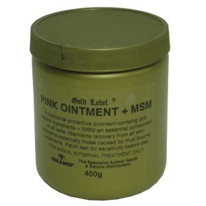 Gold Label Pink Ointment + MSM 400gm