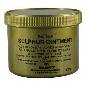 Gold Label Sulphur Ointment 500gm