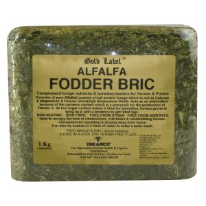 Gold Label Alfalfa Fodder Bric 1Kg
