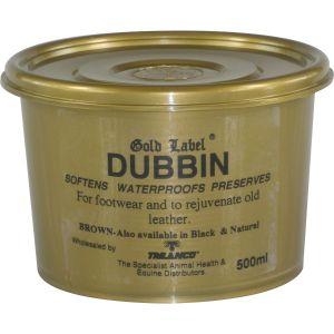 Gold Label Brown Dubbin 500gm