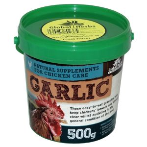 Global Herbs Poultry Garlic Granules - 500gm